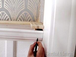 Crown Molding Shelf Instructions {Sawdust and Embryos}