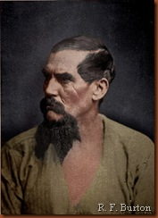 Richard Francis Burton. Portrait