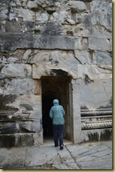 Didyma Tunnel into inner sanctum