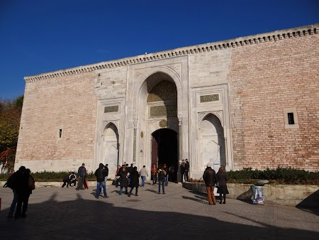 Obiective turistice Istanbul: Intrare Topkapi