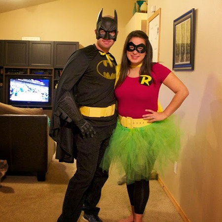 Betty White and Mr Rogers Batman and Robin & Couple Costume Ideas - Simple Moments Stick