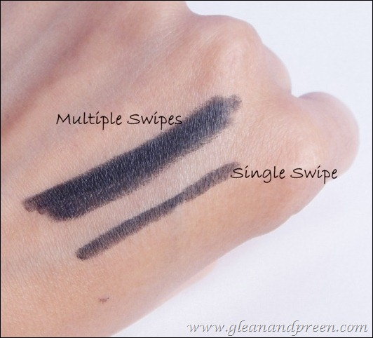Bourjois Clubbing Contour Eye Pencil Swatches