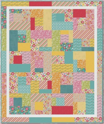 Fancy Free quilt pattern - free download!