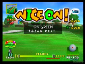 Mario Golf N64 Nice on