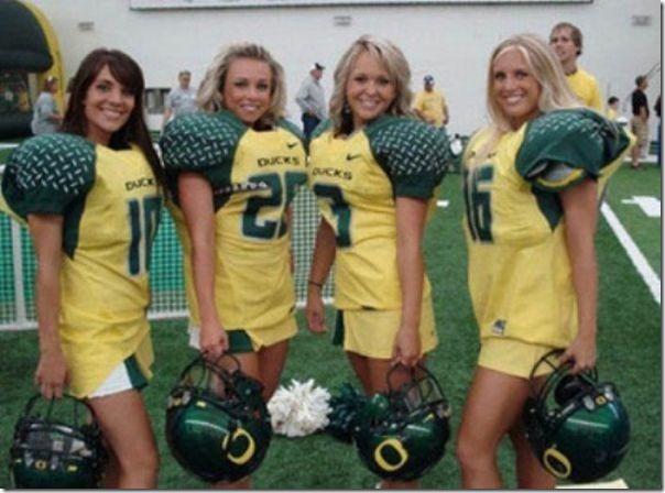 Oregon Cheerleaders (8)