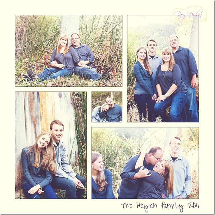 carols family 5 square text blog