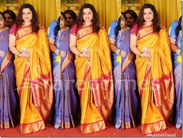 Meena_Yellow_Bridal_Silk_Saree