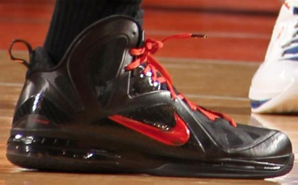 Closer Look at Nike LeBron 9 PS Elite 8211 Game Four Away PE