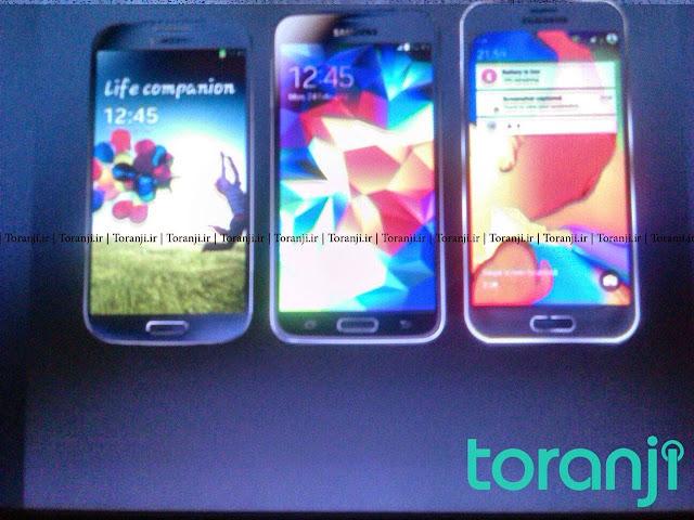 آخر التسريبات يمس شركة سامسونغ -Galaxy S6-
