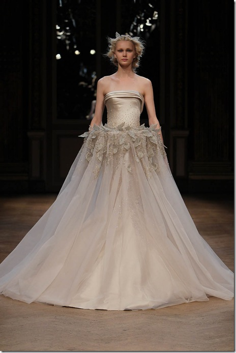 Georges Hobeika Fall 2011 Wedding Dress
