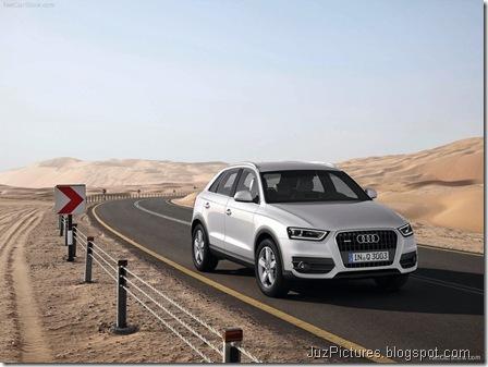 Audi Q3 - Front Angle2