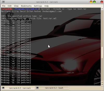 RarCrack su Ubuntu