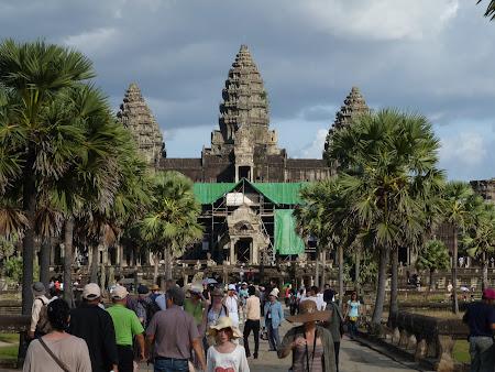 Obiective turistice Cambogia: Angkor Wat
