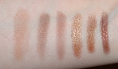 Stila Dare To Bare_swatches1