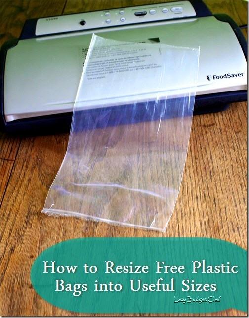 HowtoresizeplasticbagswithaFoodSaver