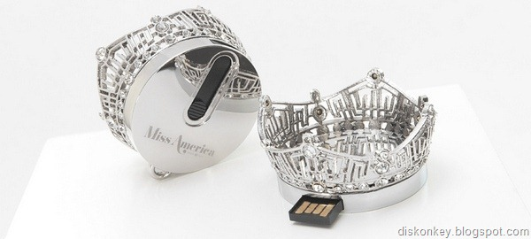 Miss America Crown USB memory stick
