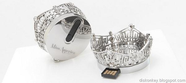 Miss America Crown USB memory stick