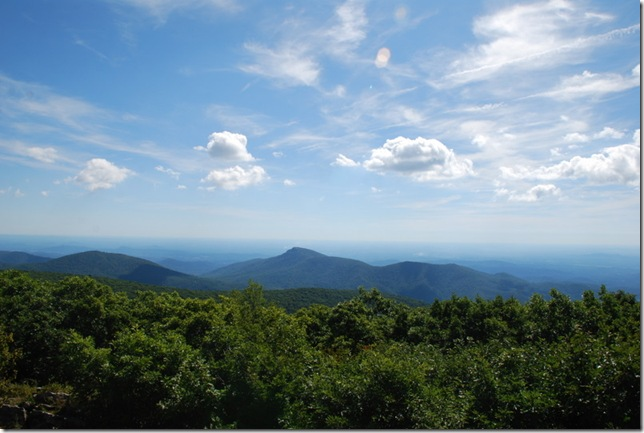 08-23-2011 AB Shenandoah NP Hawksbill Mountain Hike