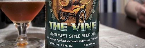 image of The Vine Northwest Style Sour courtesy of Portlandbeer.org's Flickr page