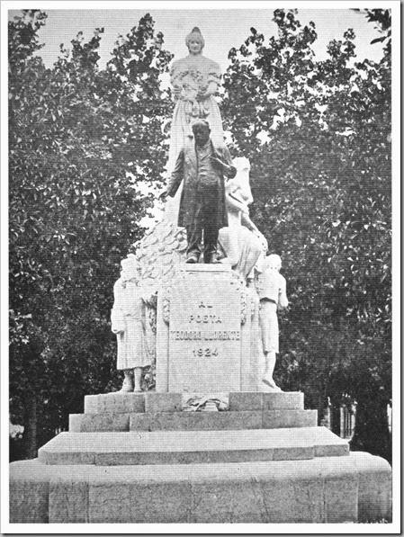 Monumento diìas despueìs de su inauguracioìn (Valencisa Atraccioìn)
