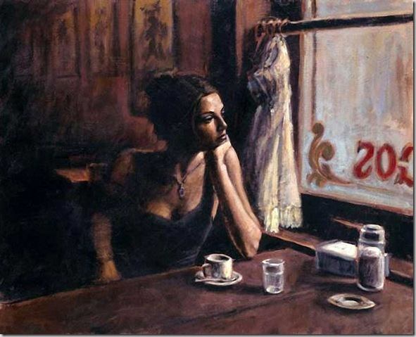 Fabian Perez 1967 - Argentine Figurative painter - Reflections of a Dream - Tutt'Art@ (56)
