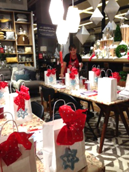 West Elm Holiday Cookie Decorating Workshop Marilyn Johnson Store