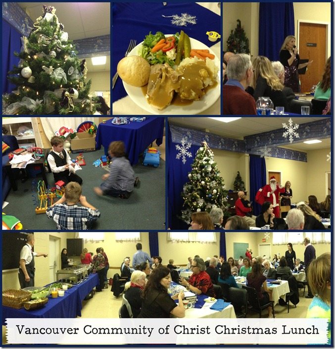 Van Christmas Lunch