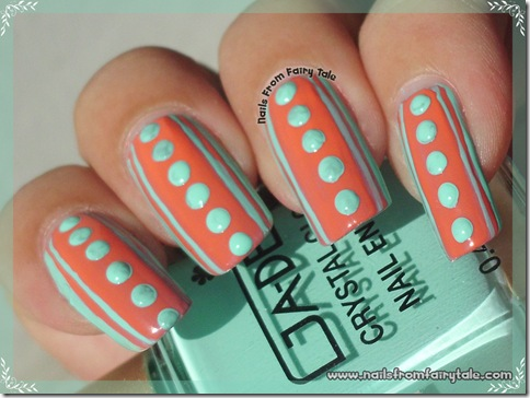 pink stripes and blue dots 4