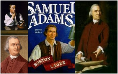 sam adams beer bottle