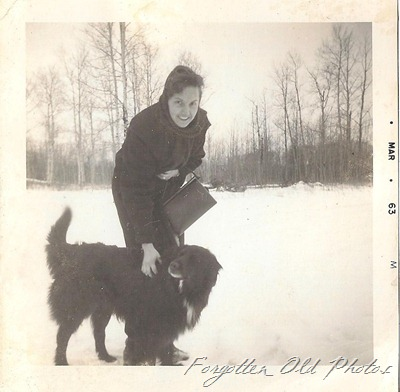Nice dog March 1963 Duluth