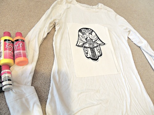 Totally Tulip Fabric Paint T-Shirts