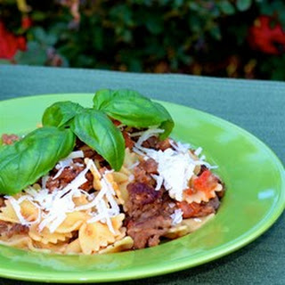 Ground Beef Bow Tie Pasta Recipes