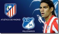 Atletico de Madrid vs Millonarios