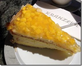Mangotorte Café Kranzler