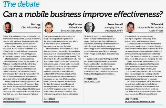 Mobile Effectiveness
