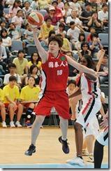 國泰劉君儀今天得分高居全隊之冠