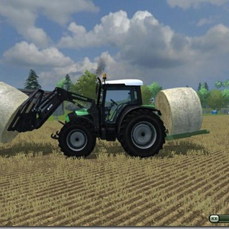Farming simulator 2013 - Heck round bale fork v 1.0
