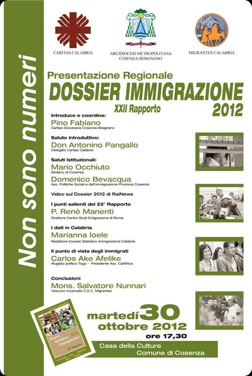 Locandina DossImm2012