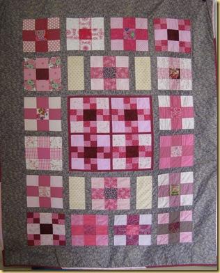 Pink Quilt No 1