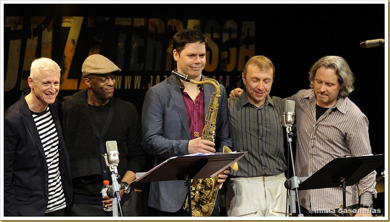 David Kikoski, Donald Edwards, Seamus Blake, Boris Kozlov & Alex Sipiagin (Terrassa, 2013)