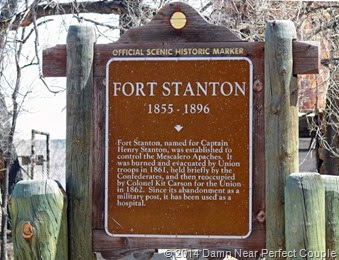 Fort Stanton Sign