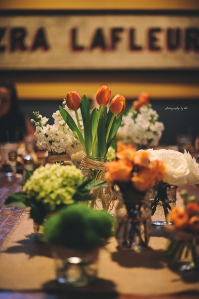 Rustic Wedding Flowers Photography by KLC