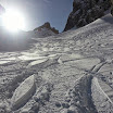 Skitour auf die Goinger Scharte am 8.3.2015 mit Hanne Siflinger