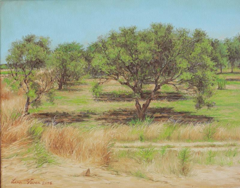 Lisa dipinge: Paesaggi ad olio