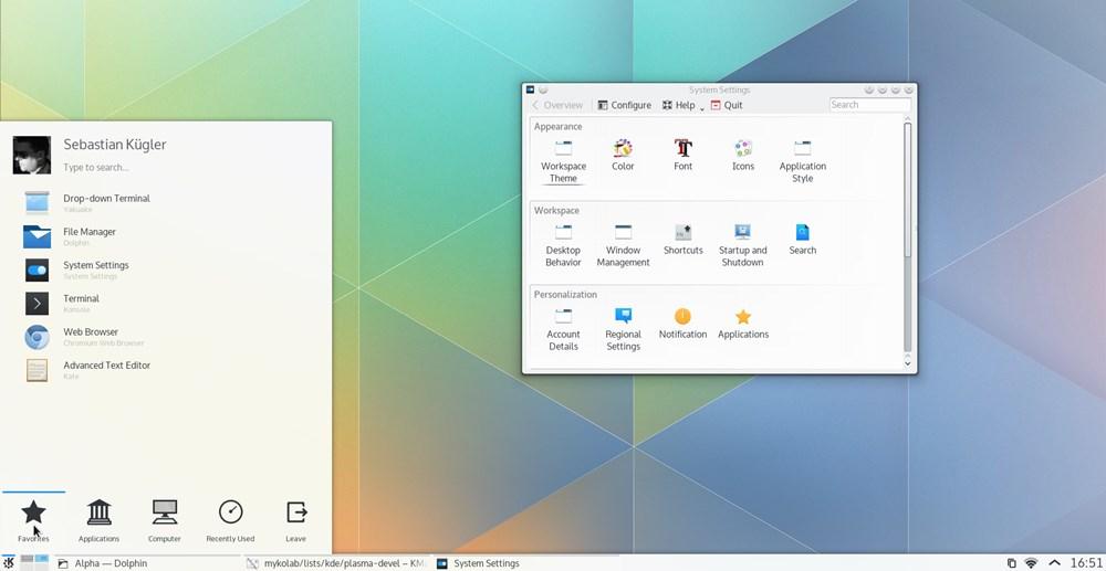 Kubuntu Plasma 5