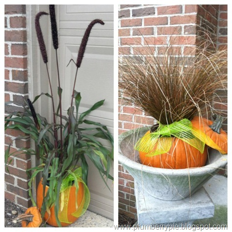 carol's outdoor fall decor