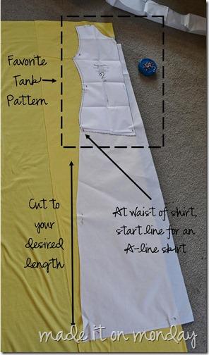 tank maxi pattern