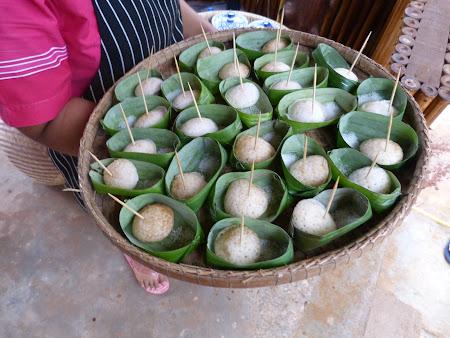Prajituri din orez in Thailanda