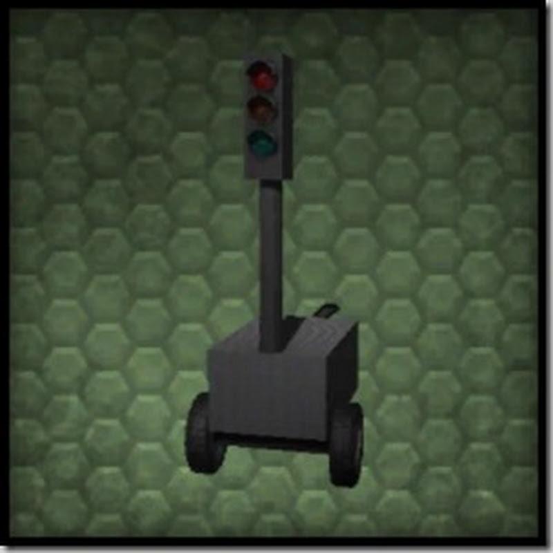 Farming simulator 2013 - Mobile trafficlights Mod