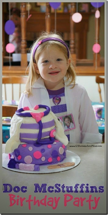 Doc Mcstuffins Birthday Party Ideas for Preschoolers. Tons of creative games, party decorations, Disney Doc McStuffins cake,and more!